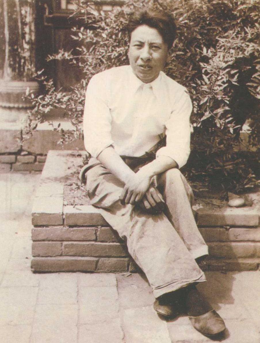1935年夏鼎先生于安阳