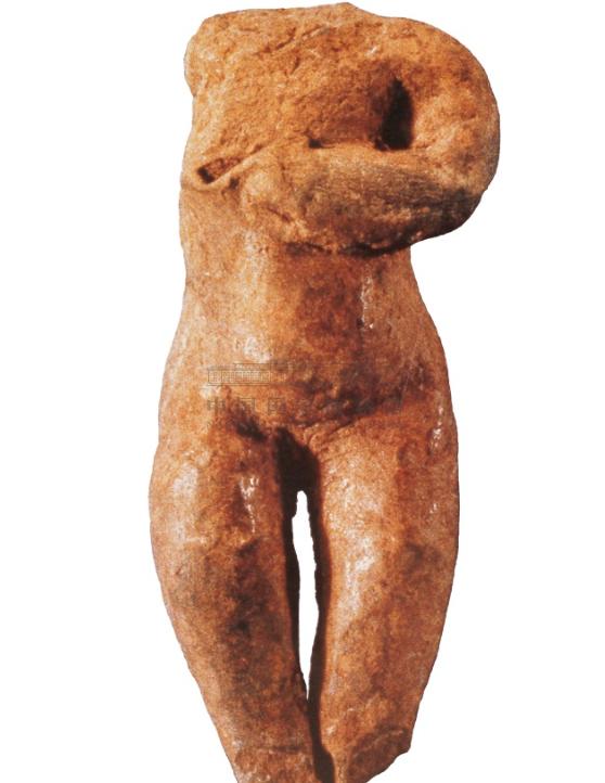 红山文化 孕妇陶塑像 国家博物馆藏 祭器礼器