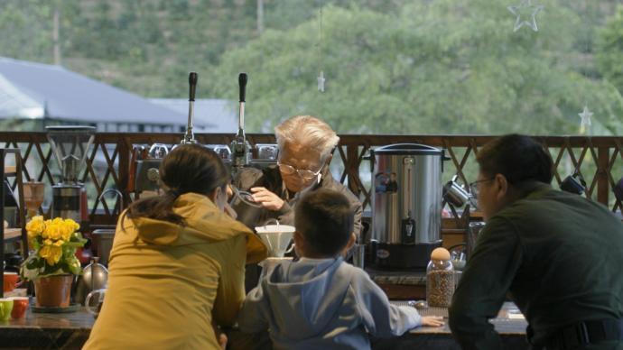 物产中国·普洱咖啡|山凹里,80岁咖农讲卡蒂姆与咖啡世界