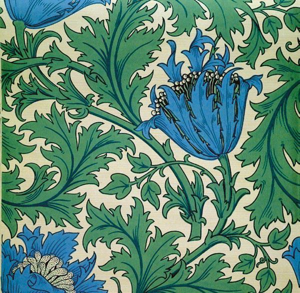 ?《銀蓮花》 (19世紀末),莫里斯