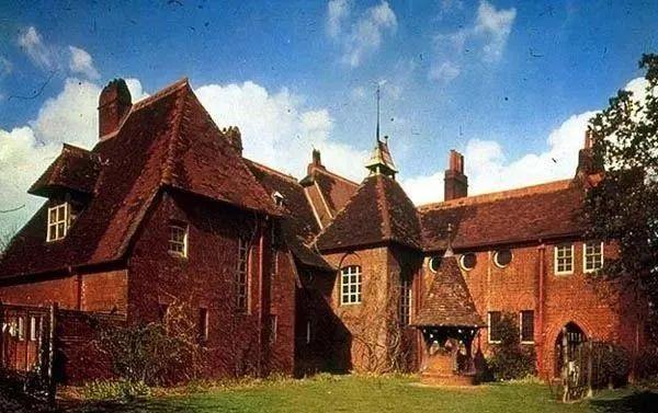 紅屋,莫里斯的田園居所,設計者:韋伯