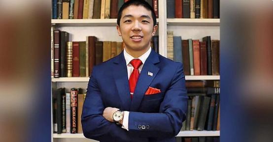 遭枪杀的耶鲁华裔研究生(美国广播公司推特截图)