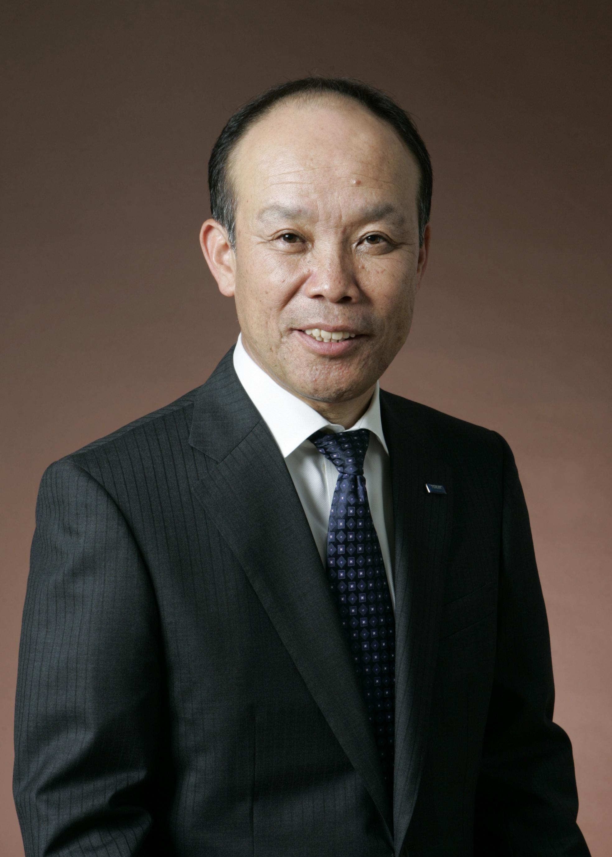 东丽株式会社常务执行董事、东丽中国总代表、东丽(中国)投资有限公司董事长兼总经理首藤和彦。