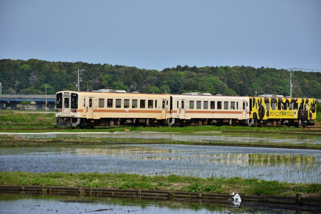 去年夏天,木田探访茨城县那珂市,考虑迁居于此。受访者供图
