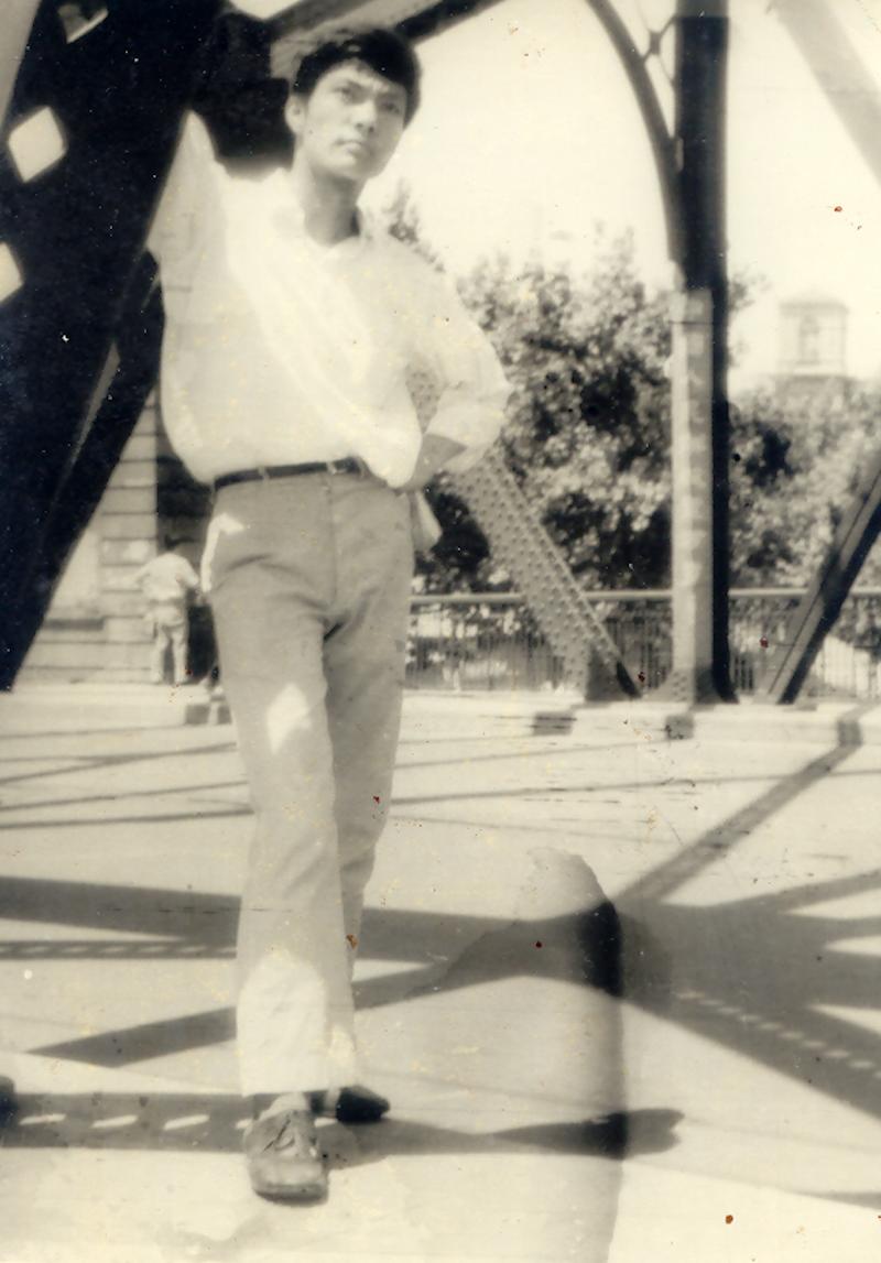 上海外白渡桥,1966年夏