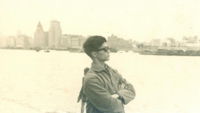 从浦东看外滩,1967年