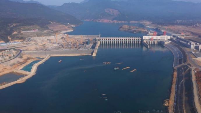 """大藤峡应急补水2.4亿立方米,为粤港澳大湾区""""解渴"""""""