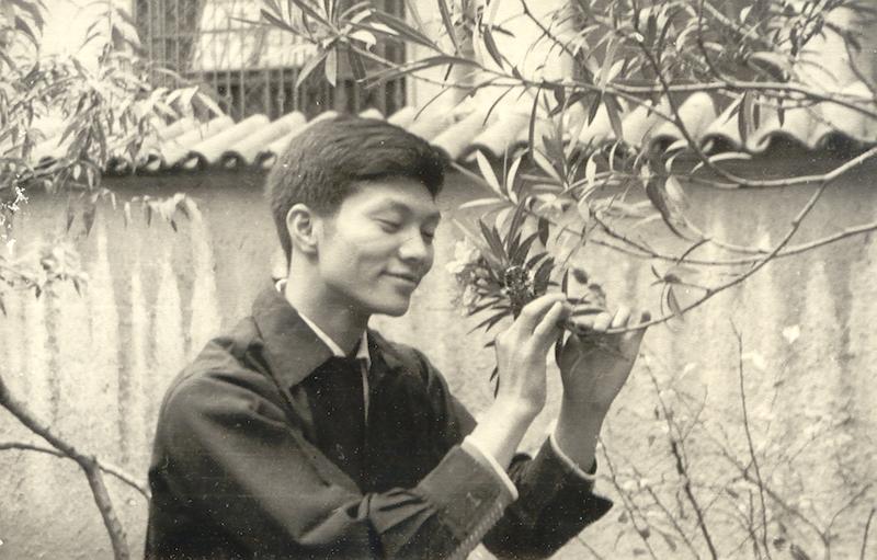 在前法租界私家花园,1967年