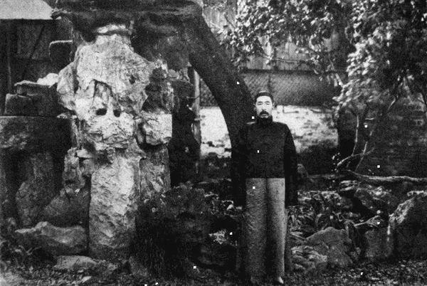 冒鹤亭(拍摄于1921年左右,时任淮安关监督),见冒鹤亭《后山诗注补笺》