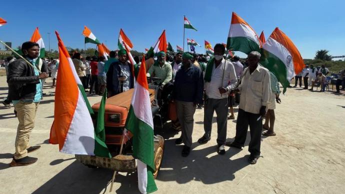印度农民抗争愈演愈烈,会撼动莫迪统治下的政治格局吗?