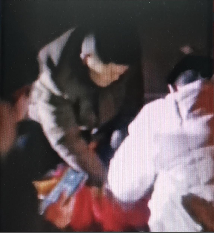 李鋒志救人 (視頻截圖)