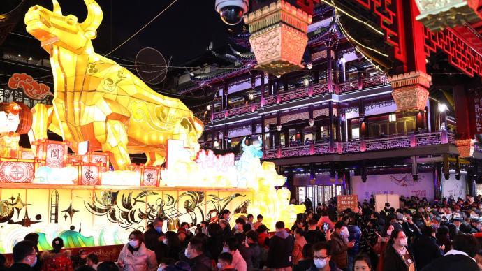 电力数据透视上海春节:市民过年就地不宅家,这些地方最热门