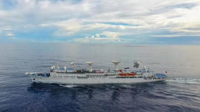 遠望3號船開啟年度新征程,執行海上測控任務