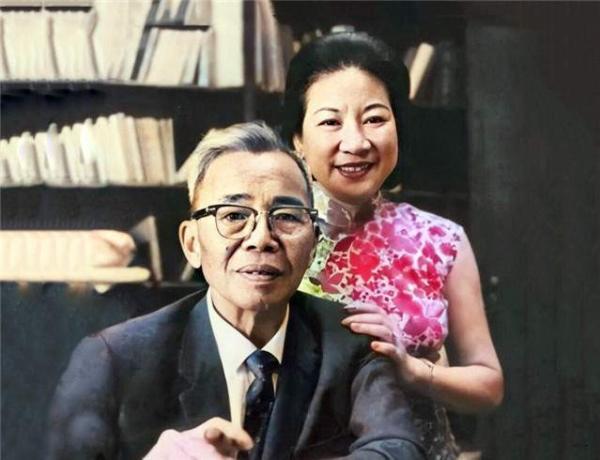 蒋廷黻与第二任妻子沈恩钦