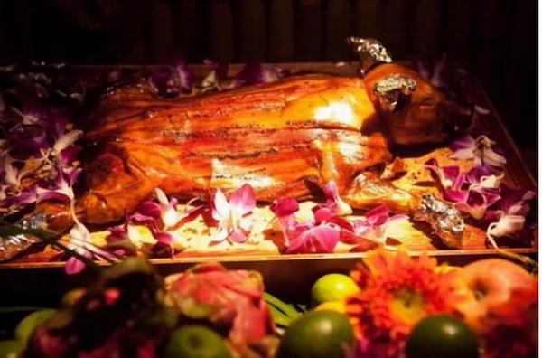 夏威夷土坑烤猪