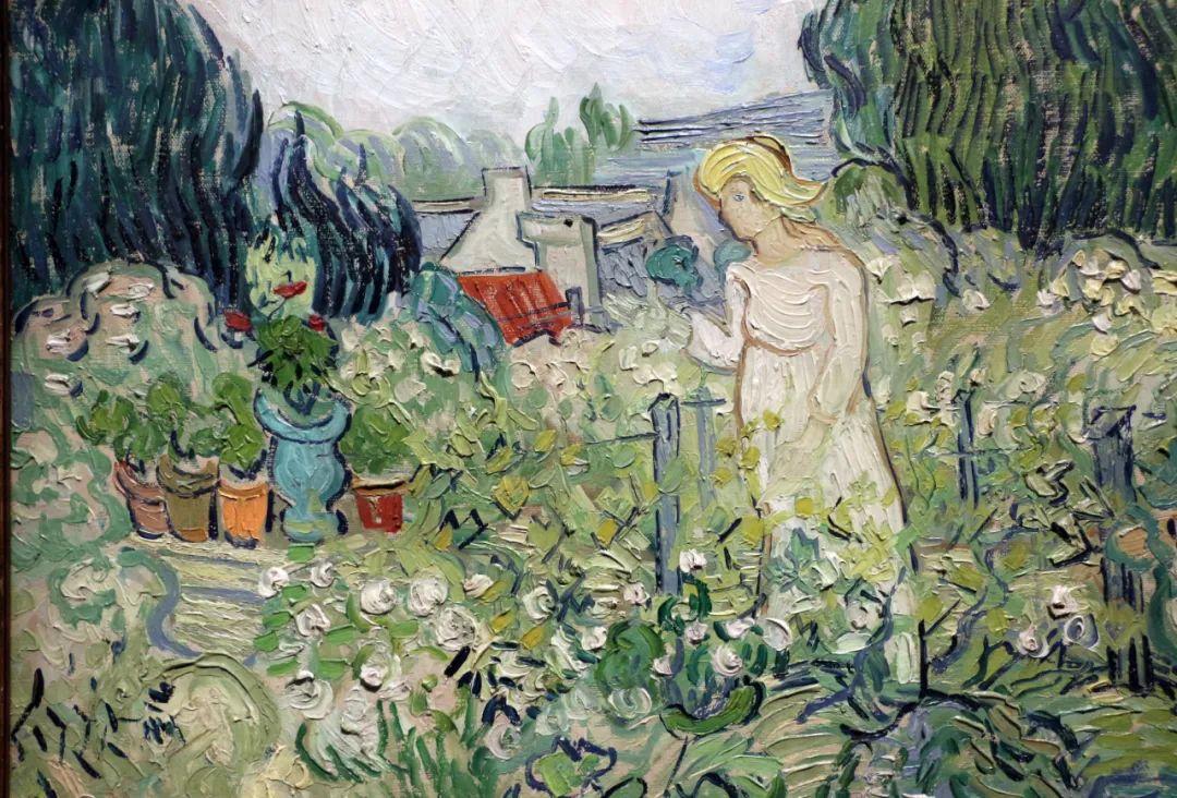 《花园里的加切特小姐》 1890年创作于瓦兹河畔奥维尔,现藏于巴黎奥赛美术馆