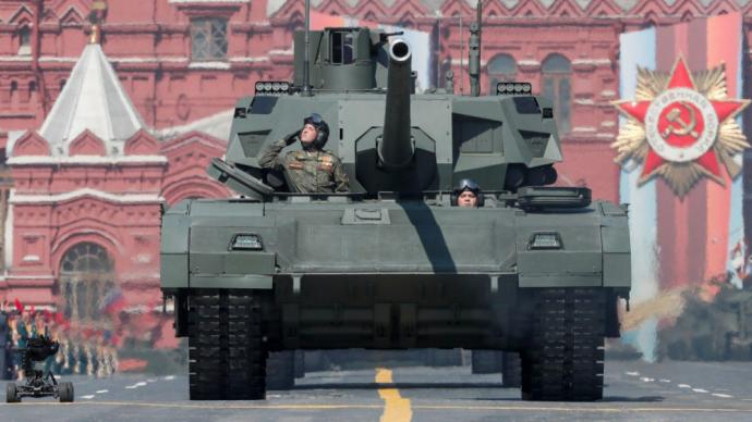 阿布扎比国际防务展开幕,俄新一代主战坦克T-14国外首秀