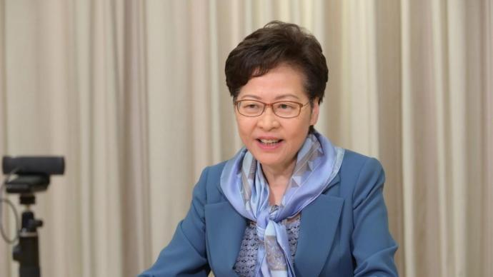 港媒:林鄭月娥今天下午率司局長接種新冠疫苗