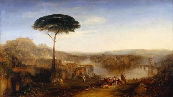 《少侠哈罗尔德游记-意大利》,透纳绘,1827,泰特美术馆