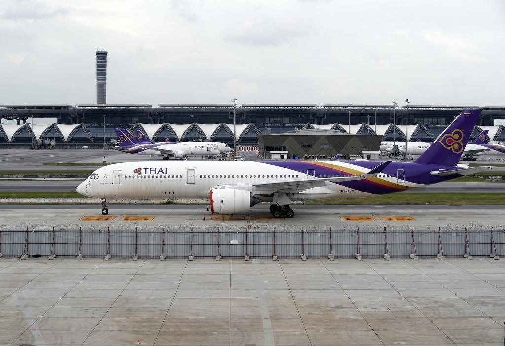 资料图:泰国国际航空航班