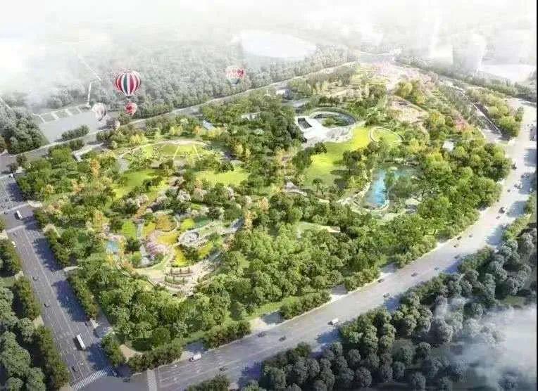 """上海世博文化公园效果图 本文图片均来自微信公号""""浦东发布"""""""