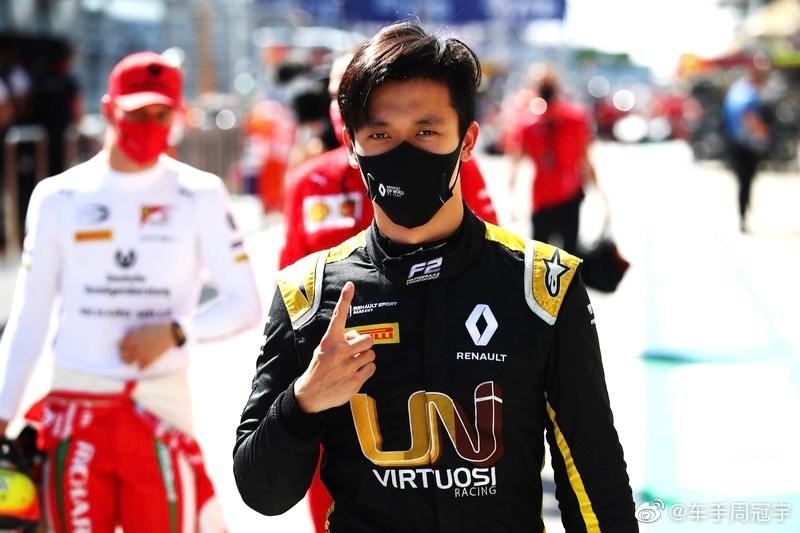 周冠宇目前是最有希望进军F1的中国车手。