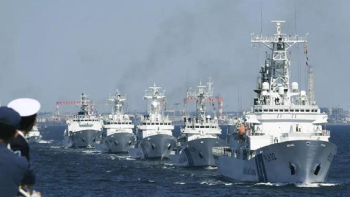 """美日巡逻船举行联合演习,两国""""第二海军""""加强联合有何意图"""
