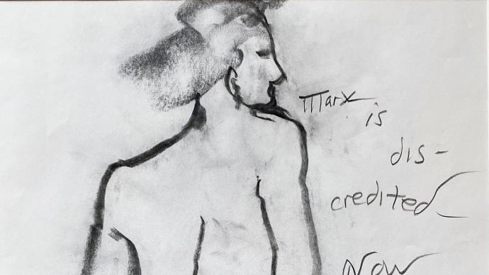 """""""他是垮掉派诗人,其实也是画家""""——关于费林盖蒂的画作"""