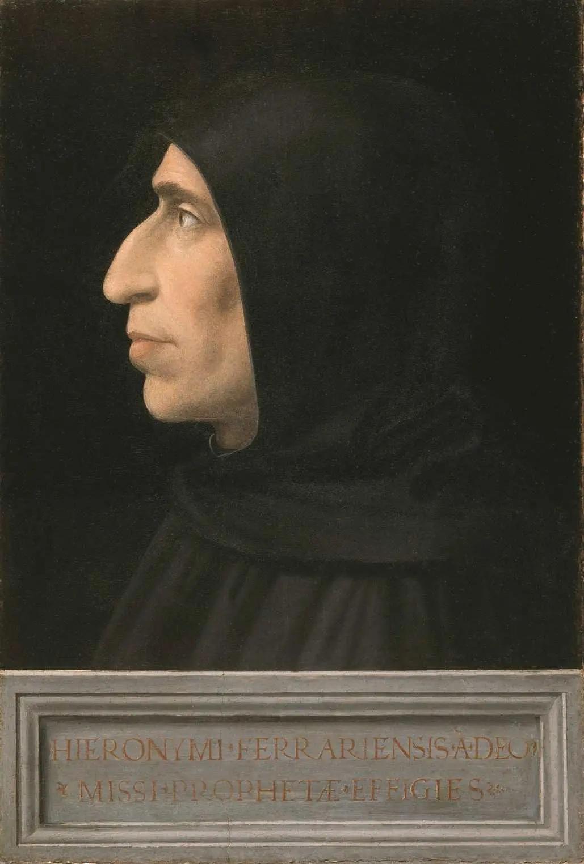 多明我会修士吉罗拉莫·萨沃纳罗拉(1452-1498)