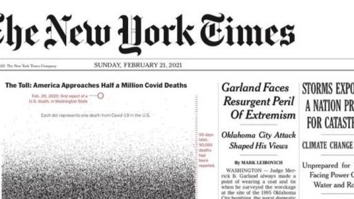 深觀察|《紐約時報》這個頭版創意給媒體轉型什么啟示