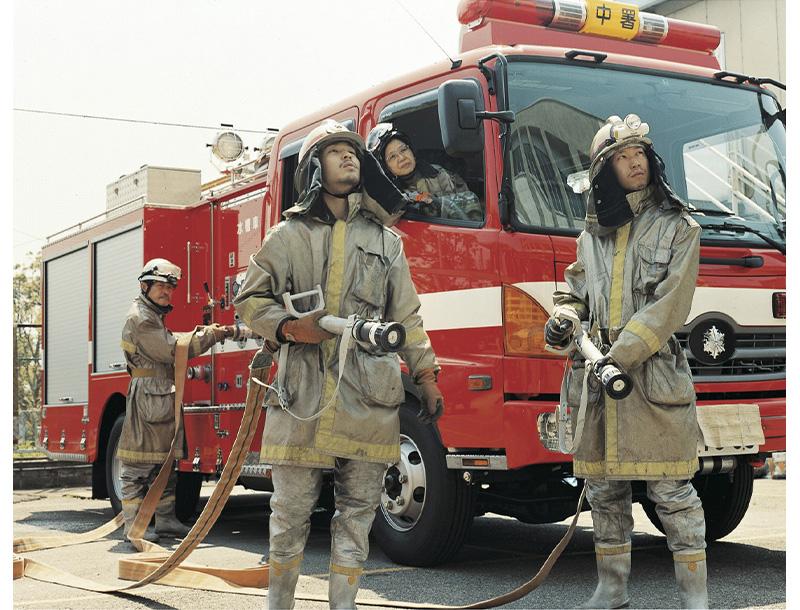 消防员© 浅田政志