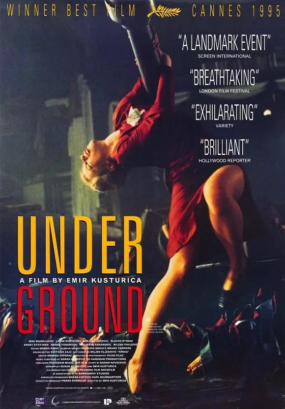 《地下》电影海报