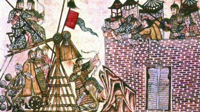 蒙古灭金围城史:帝国的攻城术