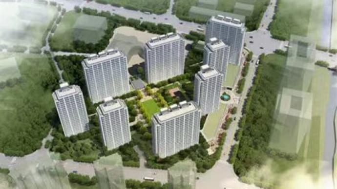 娃哈哈集团在杭州市中心建员工公寓,周边二手房单价超十万元