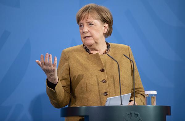 德国总理默克尔。人民视觉 资料图