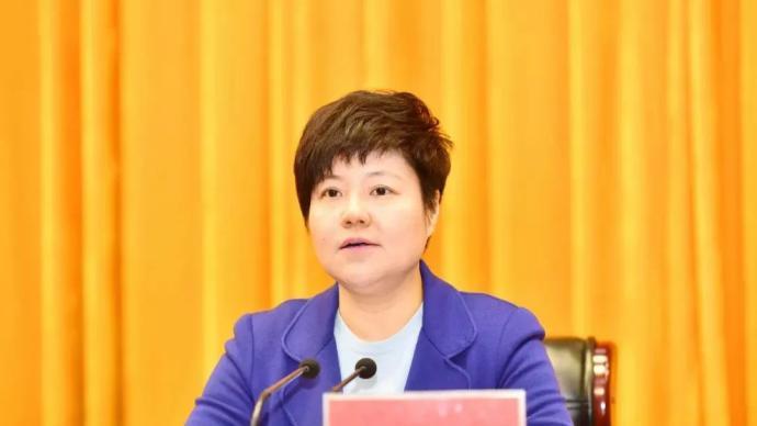 江苏淮安市委书记蔡丽新已任广西壮族自治区政府党组成员