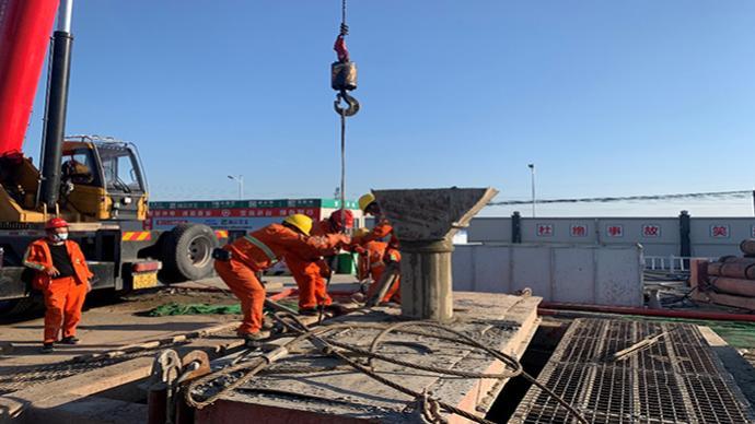杭绍甬高速杭绍段17个工点全部恢复施工,计划明年建成