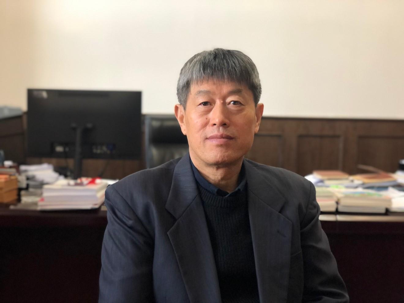 云南大學校長方精云。澎湃新聞記者 湯琪 圖