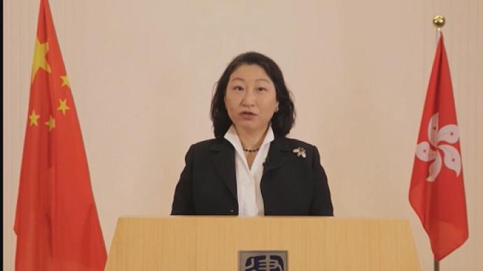 香港官员:国安立法后香港恢复法治和秩序