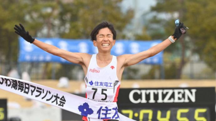 黄种人全马纪录再刷新!日本选手铃木健吾跑进2小时05分