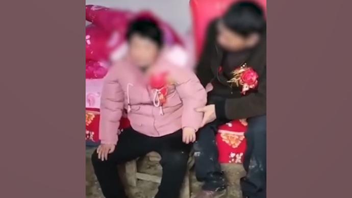 警方回应疑似未成年女孩嫁给中年男子:已年满二十周岁