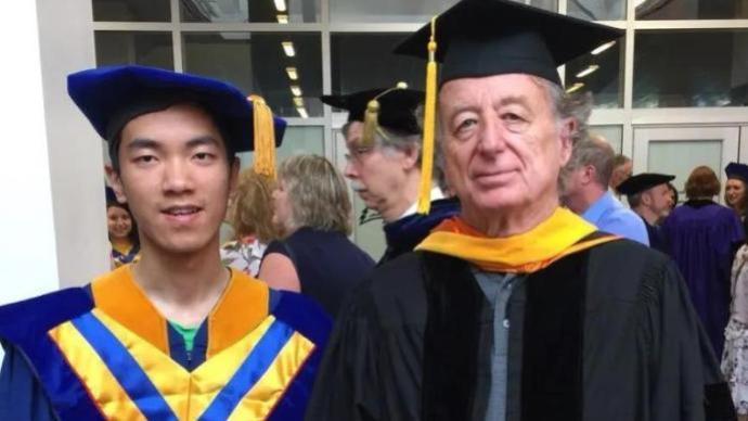 中國科大26歲特任教授陳杲父親談家教經驗:自立教育
