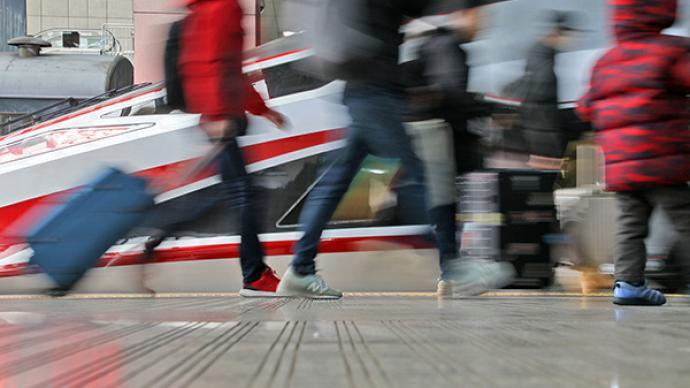 国家铁路去年旅客发送量完成21.67亿人,下降39.4%