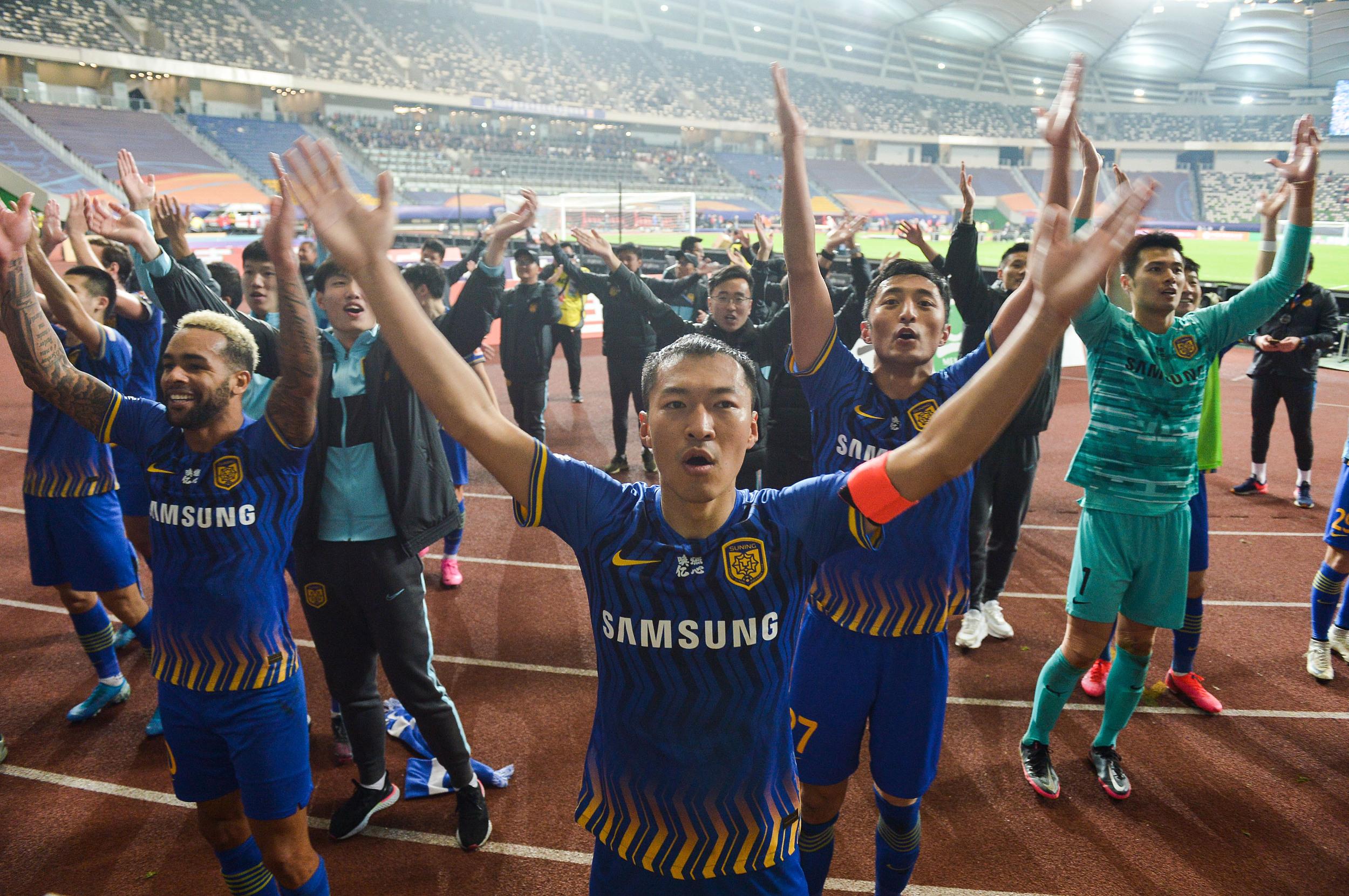 苏宁俱乐部拿下了2020年中超冠军。