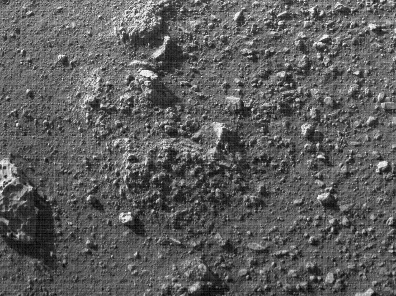 """火星地表图像,""""毅力号""""拍摄于2021年2月28日(Sol 9)当地平均太阳时间16:39:38"""