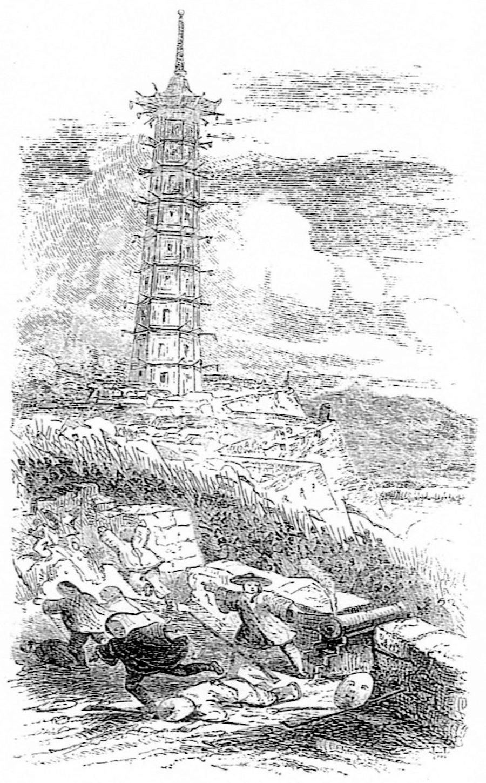 图6 太平军攻下南京,载于J. Milton Mackie《太平王的生涯——中国的叛乱首领》