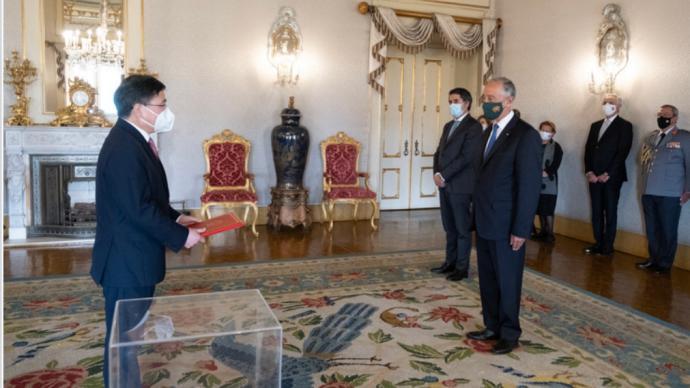 外交部拉丁美洲和加勒比司原司长赵本堂履新驻葡萄牙大使