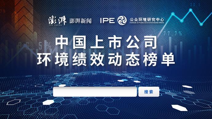 H5|中国上市公司环境绩效动态榜单