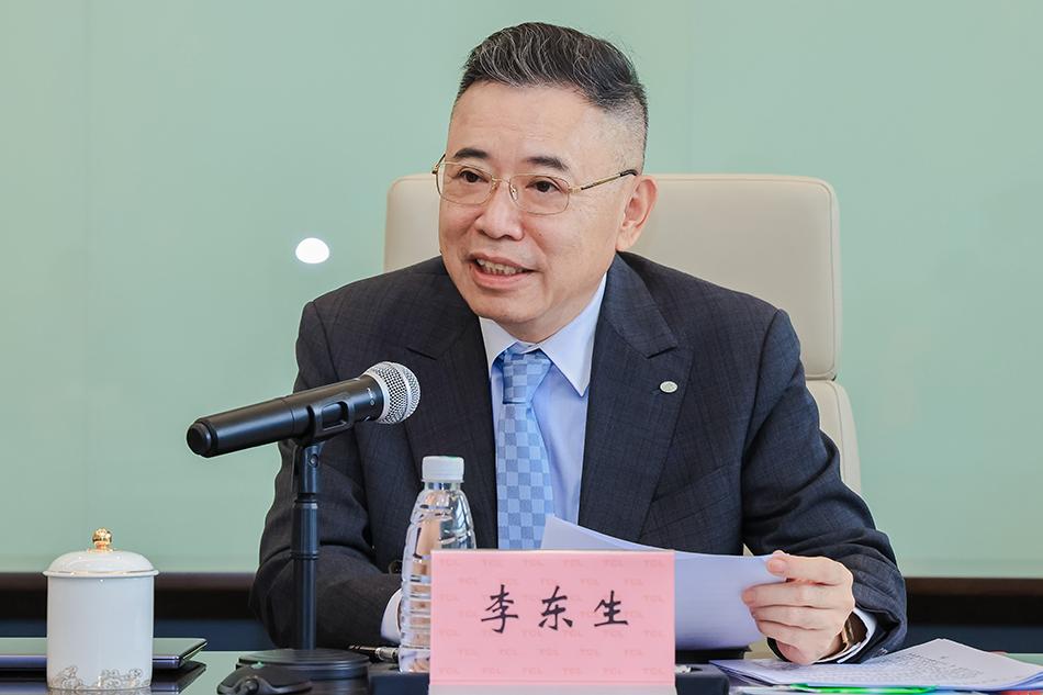 全国人大代表、TCL创始人李东生