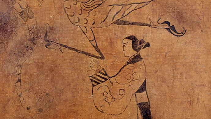 """如何与千件古代女性图像云上""""相遇"""""""